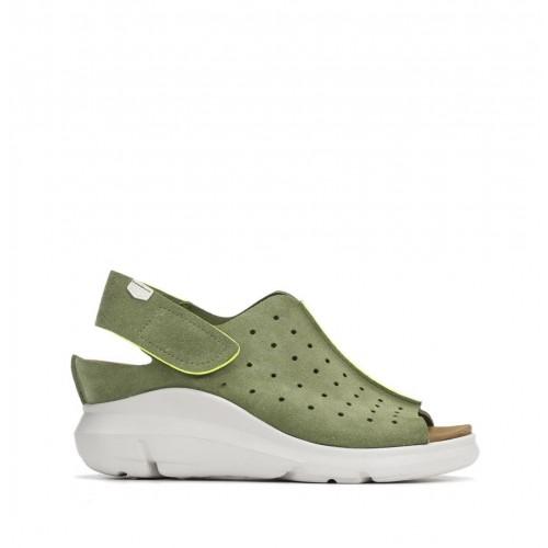 Sandales en cuir à semelle...