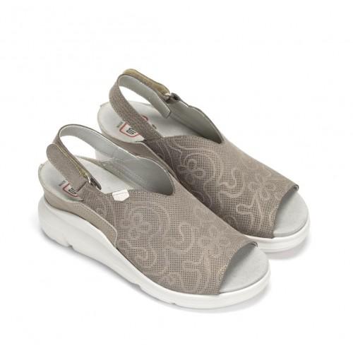 Platform Java sandals in...