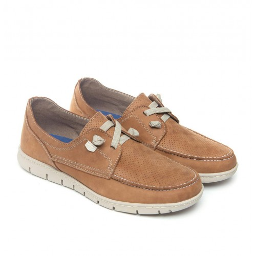 Nautical shoe flex mod leather