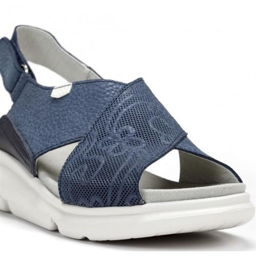 Sandales Bora en cuir...