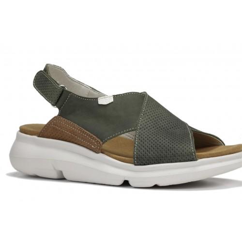 Sandales Bora en cuir à...