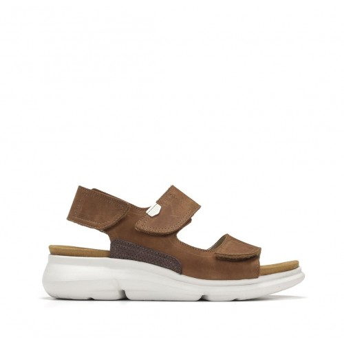 Sandales Bora en cuir avec...