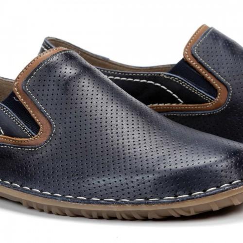 Chaussure Bali en cuir à...